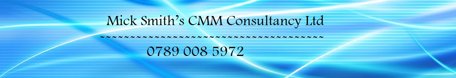 Mick Smith's CMM Consultancy Ltd
